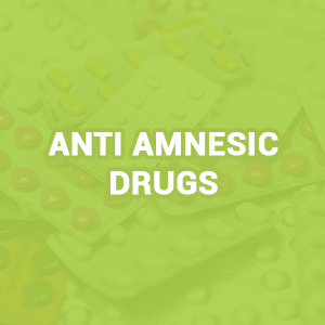 Anti Amnesic Drugs